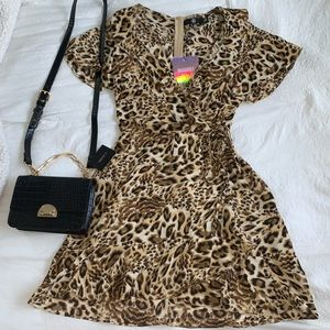 NWT Leopard Print Dress 🐆